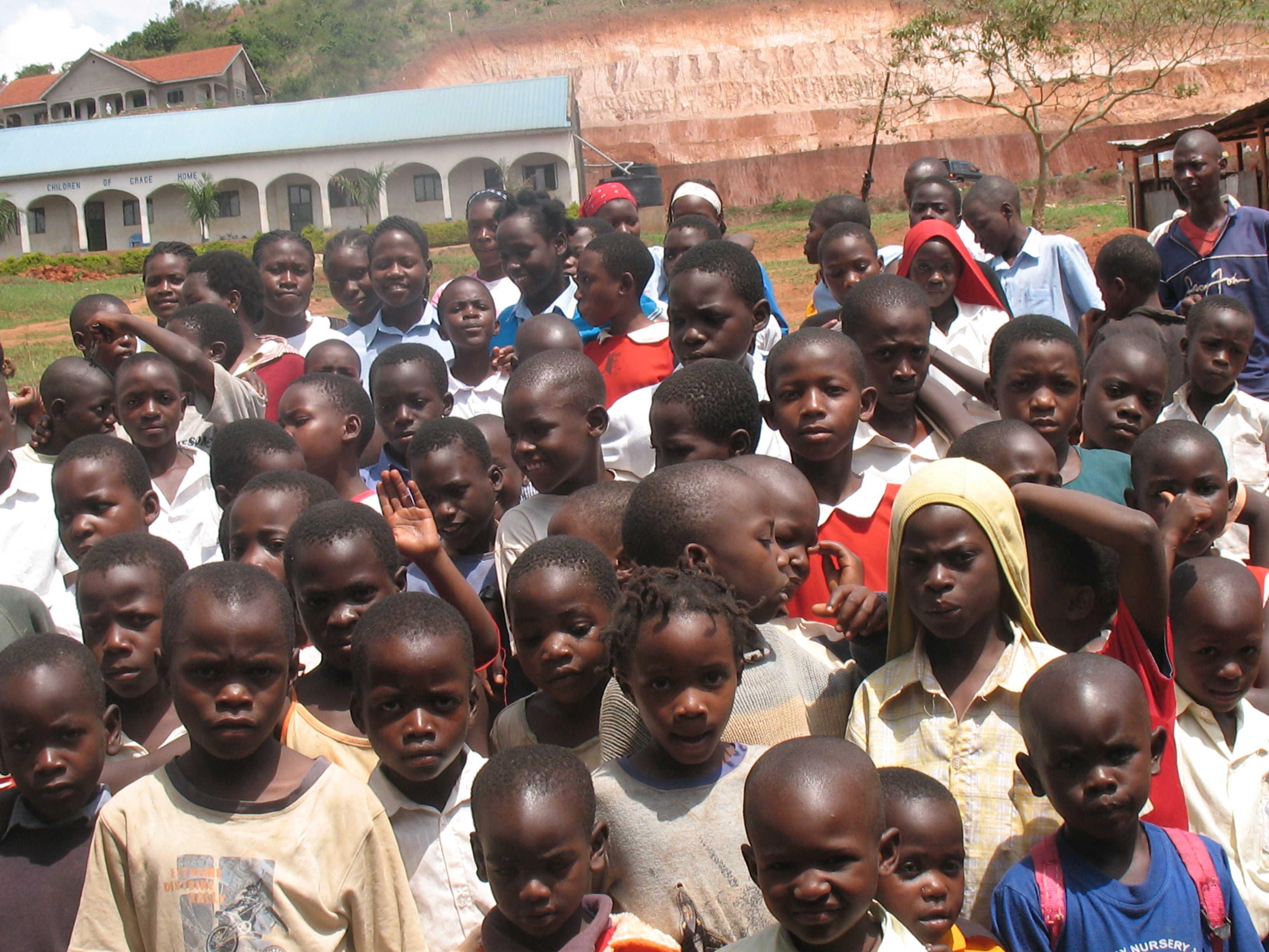 Children of Grace orphans nansana
