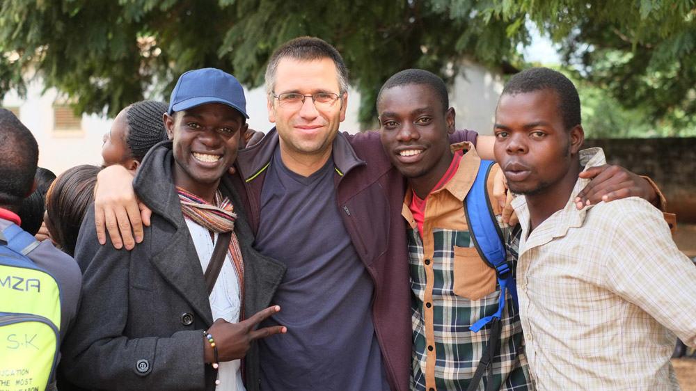 Pastor Daniel and friends
