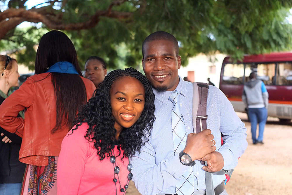 Pastor Nemo and wife
