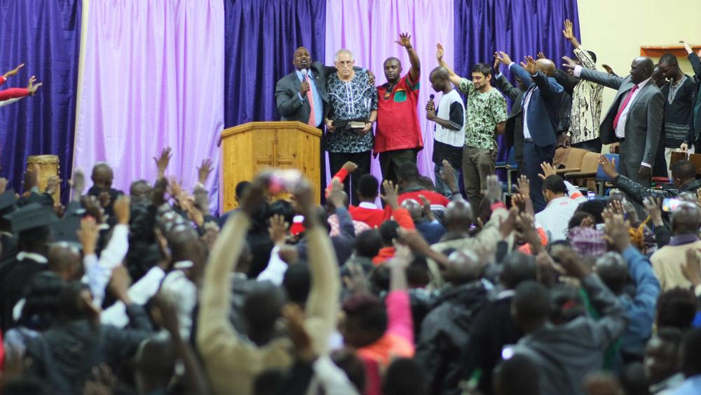 recognizing 30 years in africa - Pastor Scibelli