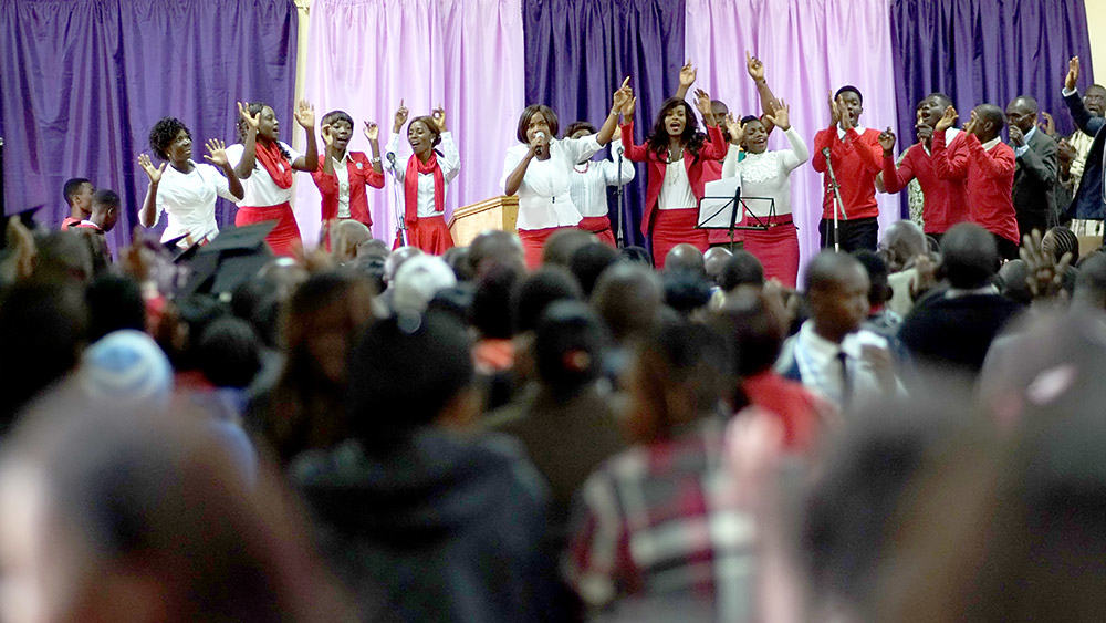 zambia conference - worship team
