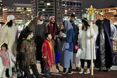 nativity walk