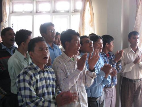church service in Katmandu Greater Grace (3)