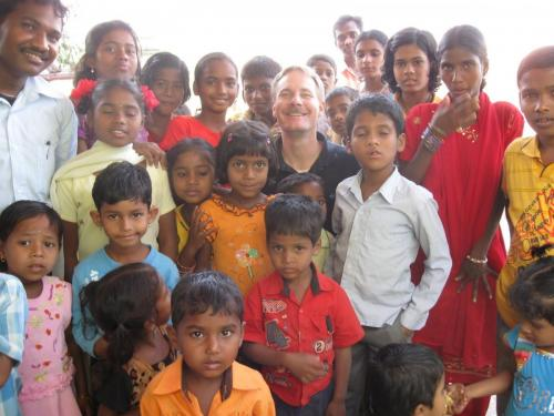 with some of the Greater Grace Orissa church, this is the persecuted area of India